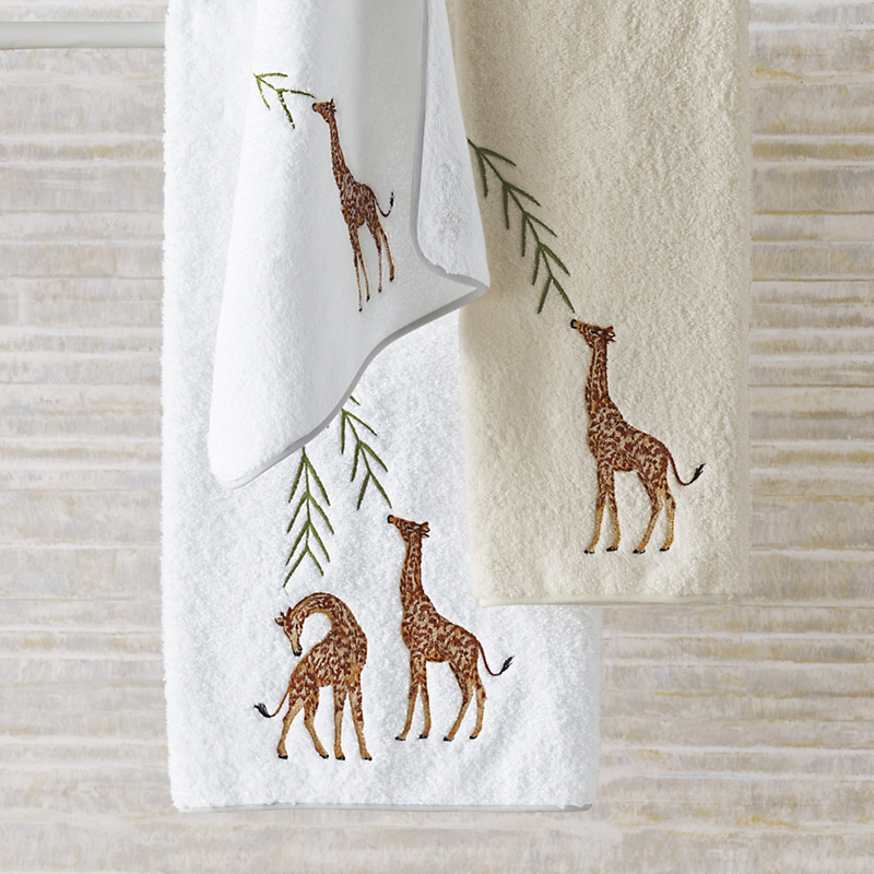 Giraffe Towels