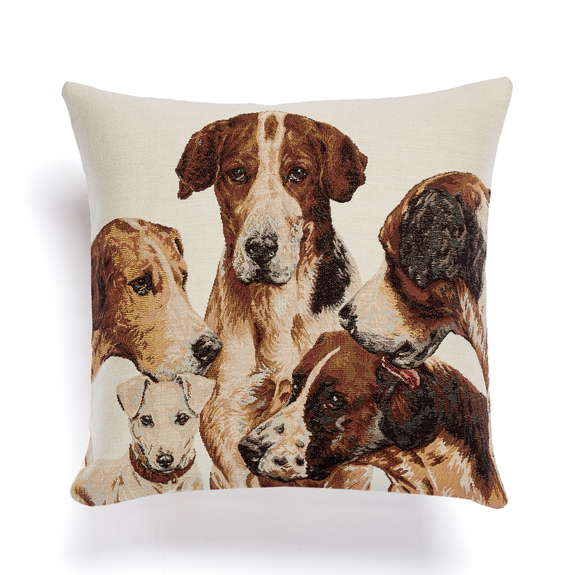 Dog Party Tapestry Pillow