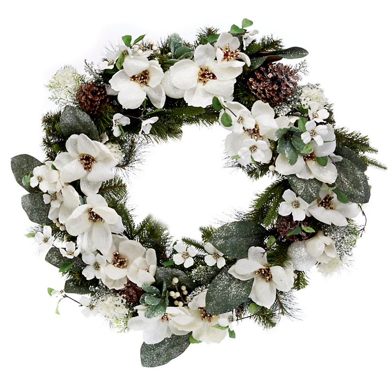 Southern Splendor Magnolia Wreath