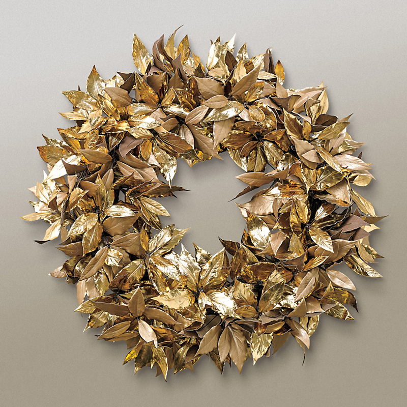 Gold Laurel Leaf Wreath