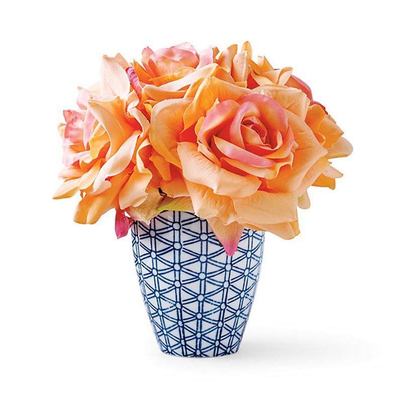 Avery Coral Rose Bouquet