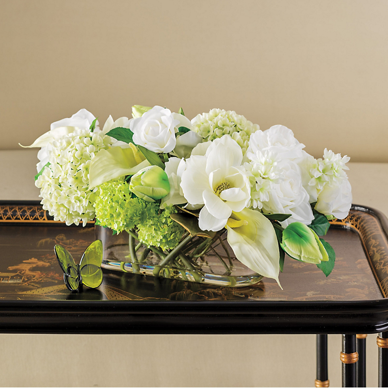 Spring White Arrangement