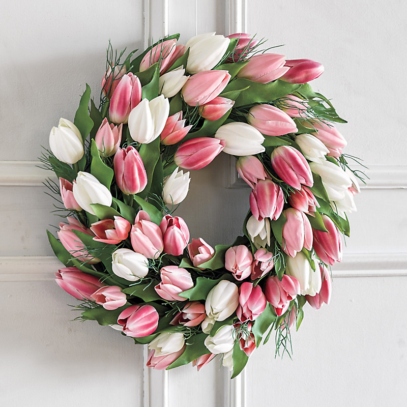 Dutch Tulip Wreath