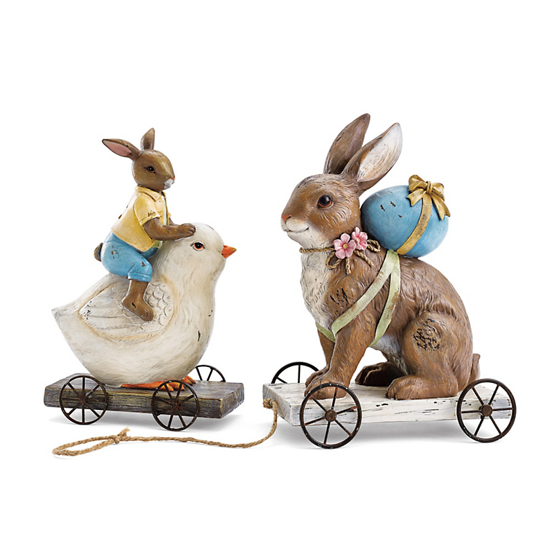 Easter Parade Bunny Figures