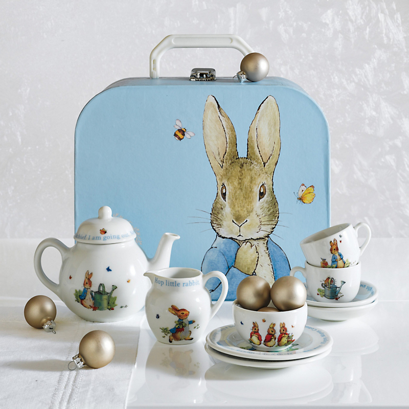 Wedgwood Peter Rabbit Children's Tea Set