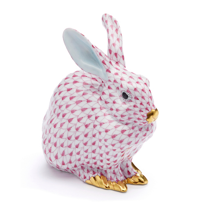 Herend Pink Bunny