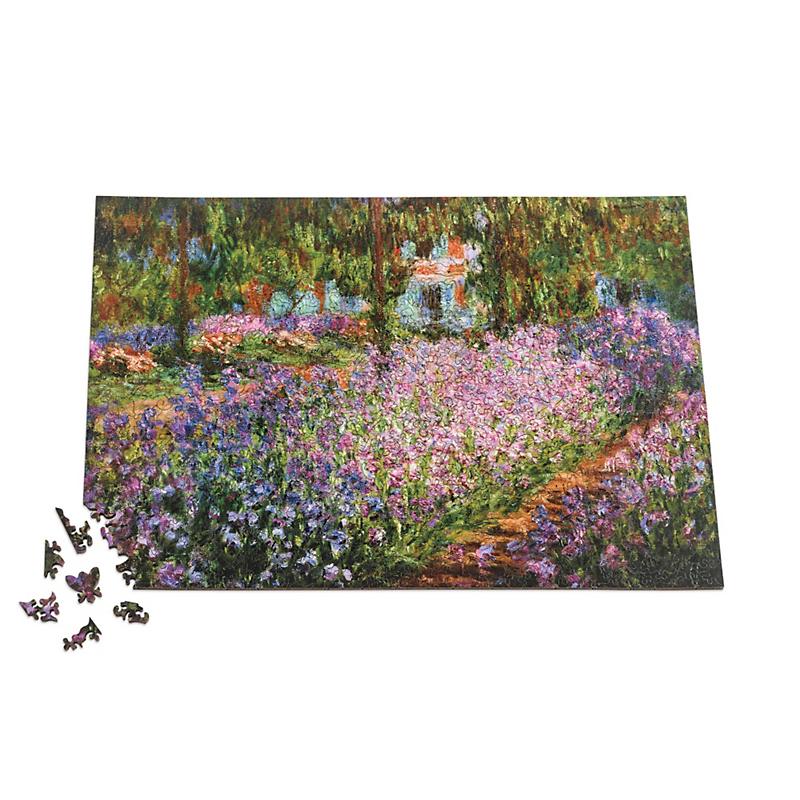 Artist's Garden At Giverny Puzzle
