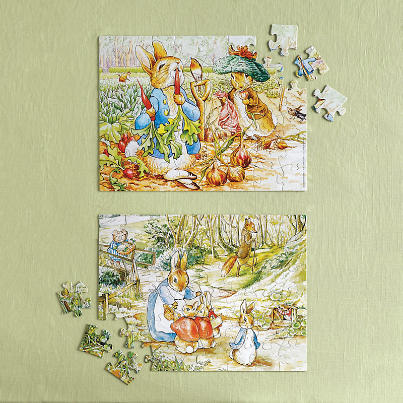 Peter Rabbit Puzzles Set