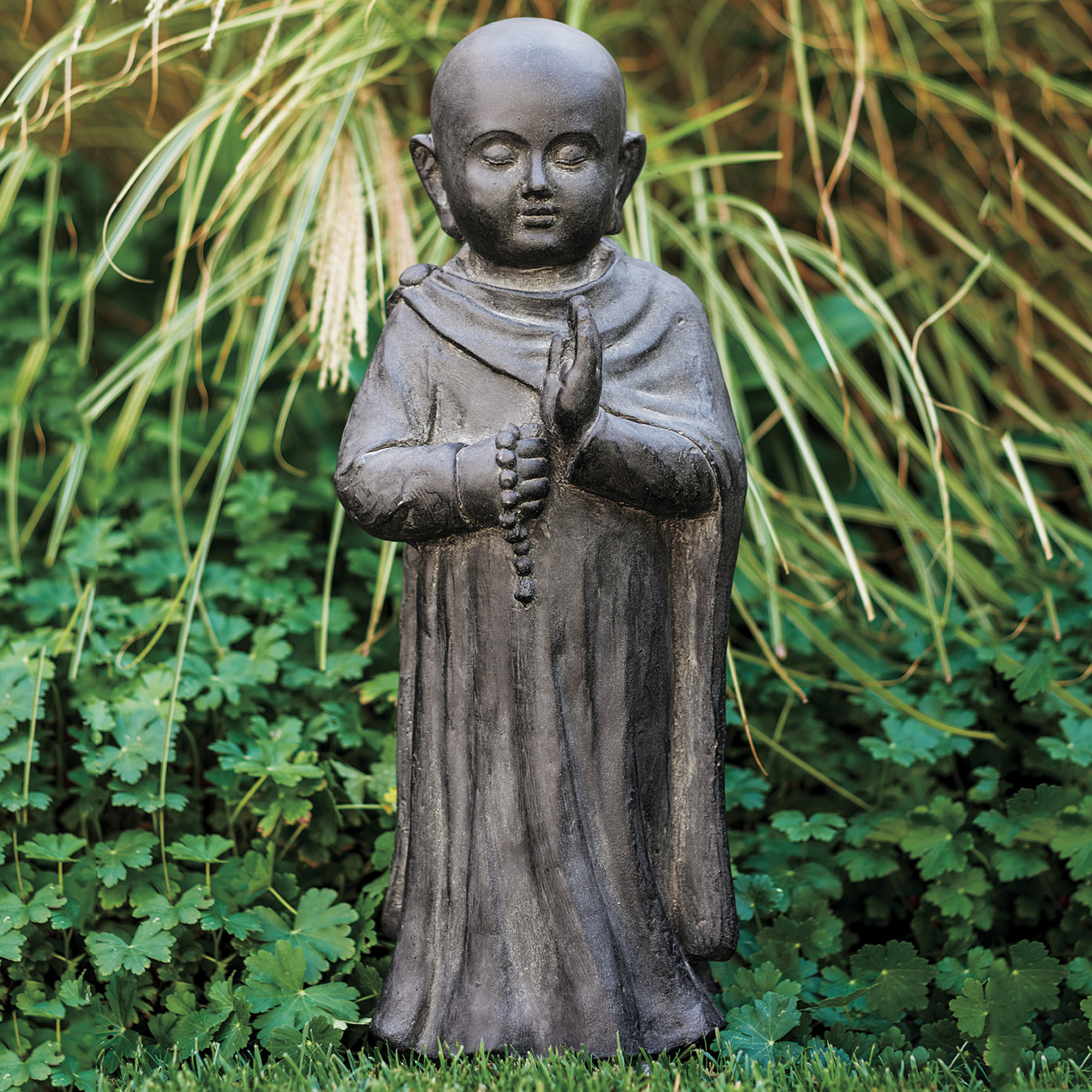 Praying Monk Sculpture