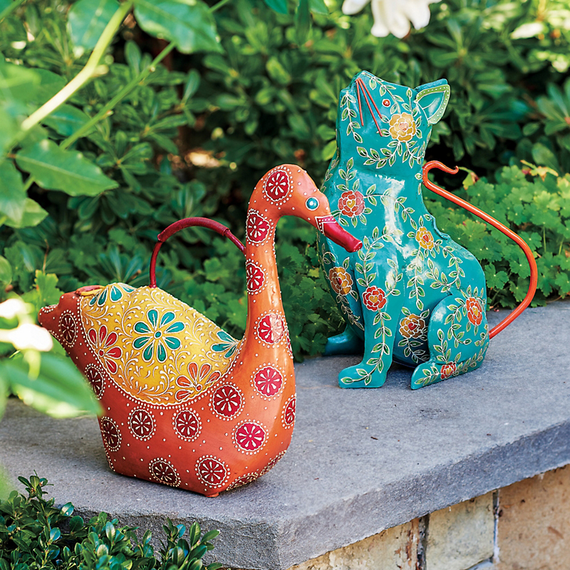 Swan & Cat Watering Cans