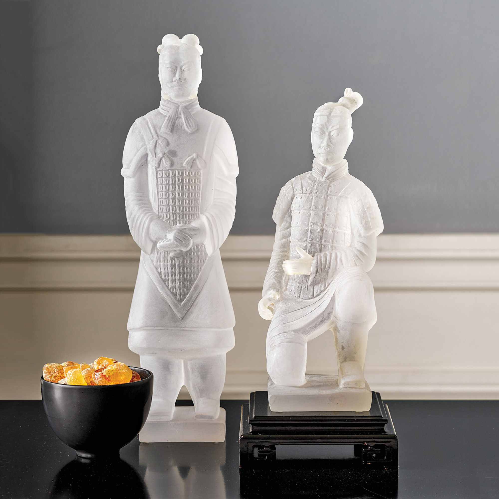 Frosted Qing Army Figures