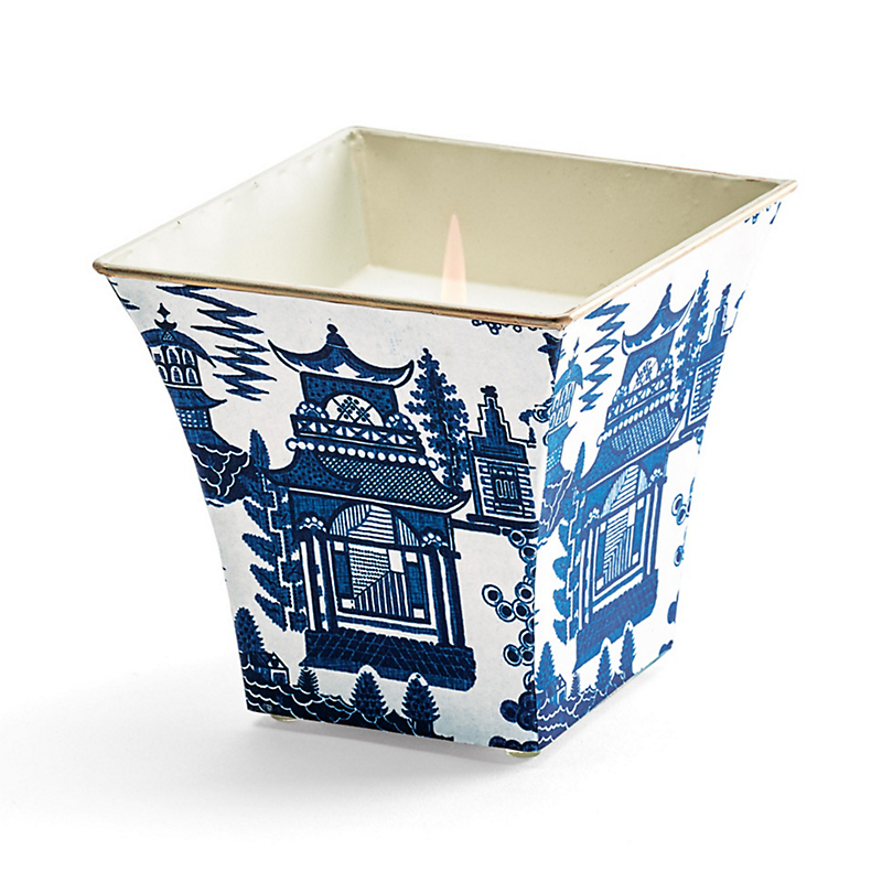 Pagoda Cachepot Candle