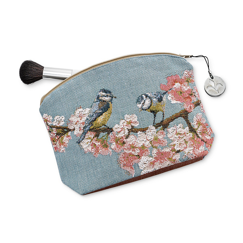 Cherry Blossom Cosmetic Bag
