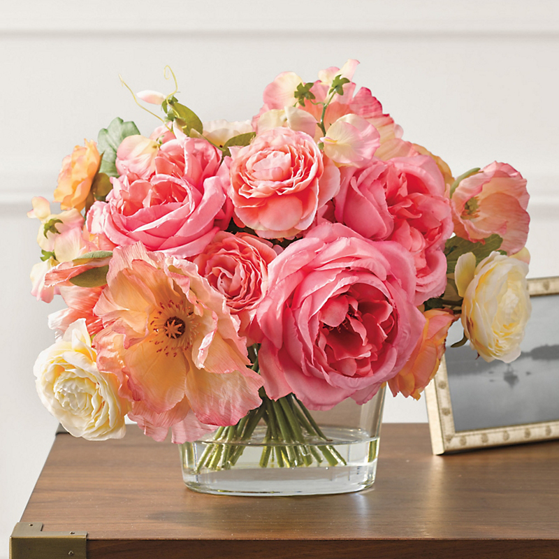 Fairchild Rose Mixed Bouquet