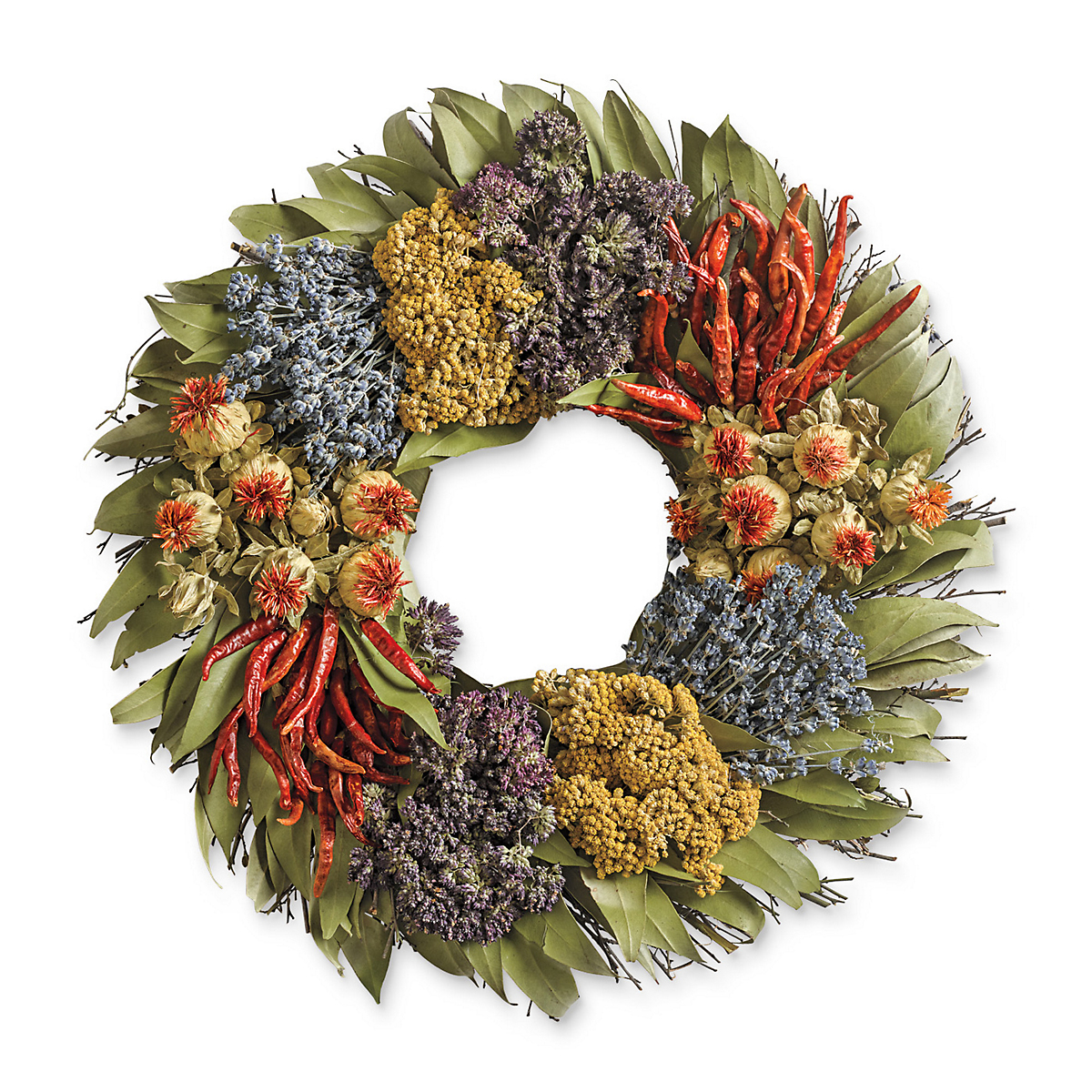 Sonoma Preserved-Chili Wreath