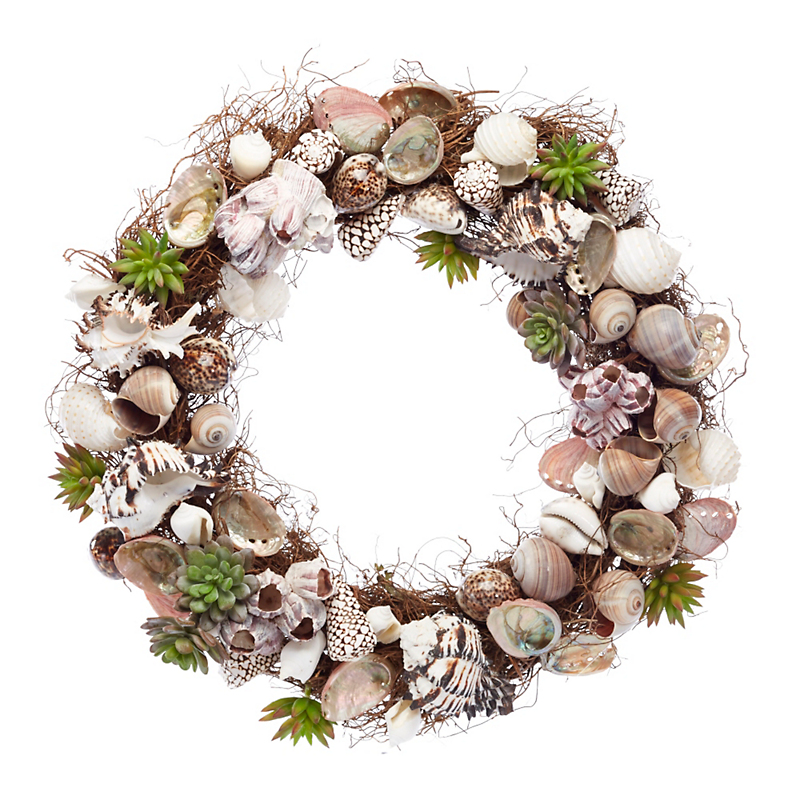 Stinson Shell Wreath