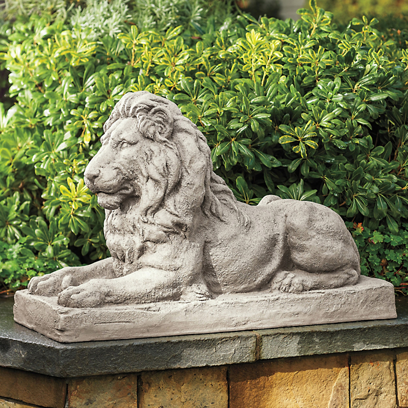 Estate Lion Sculpture
