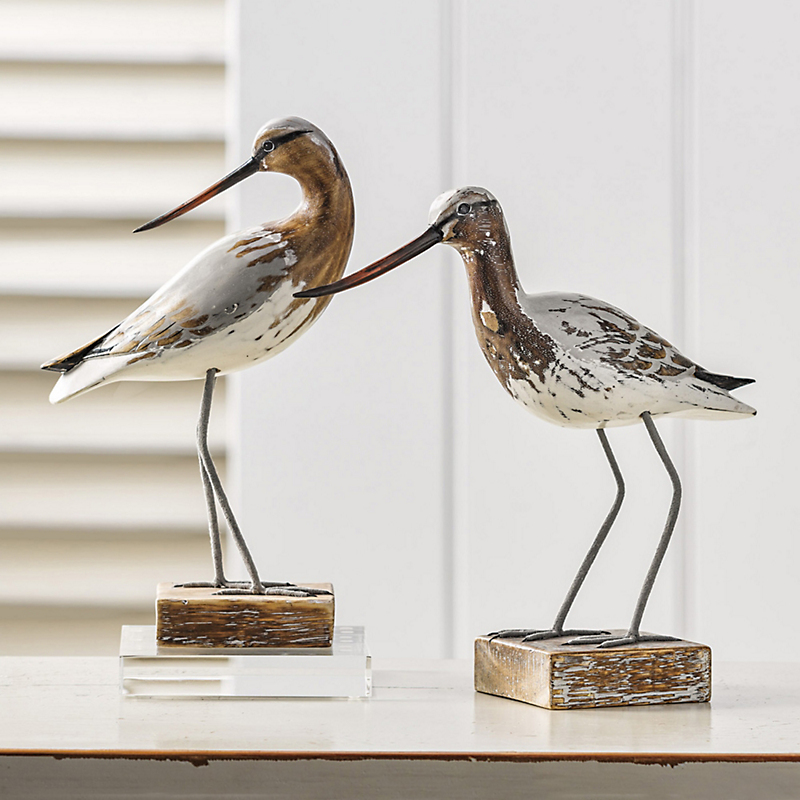 Gray Godwit Bird Figures