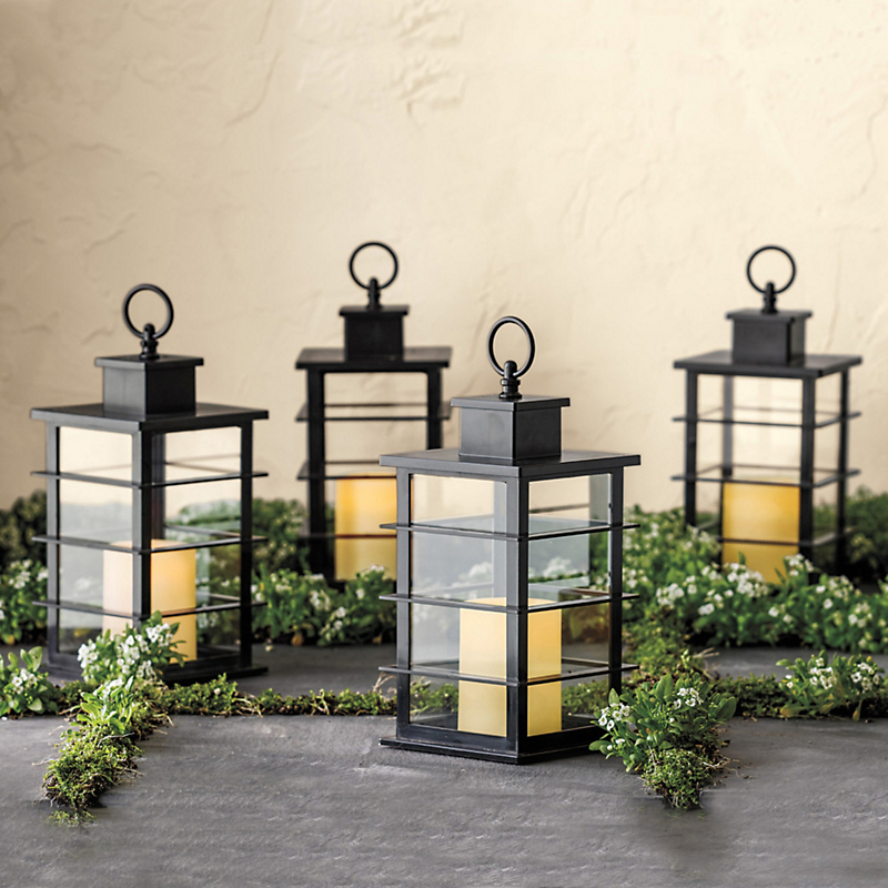 Outdoor Flameless Candle Lantern