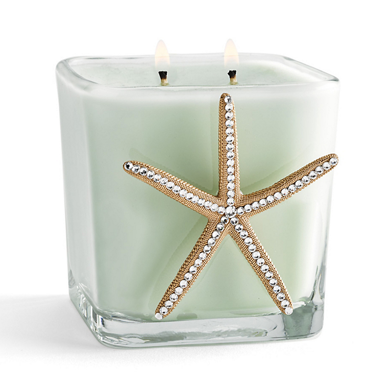 Swarovski Starfish Candle
