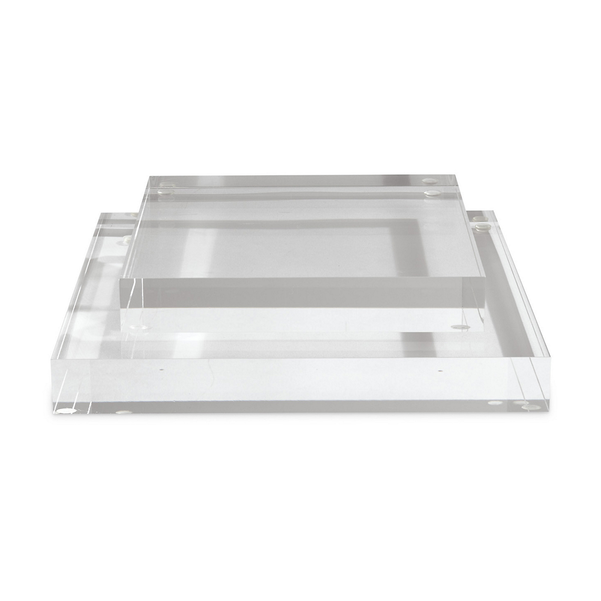 Clear Acrylic Square Display Stands