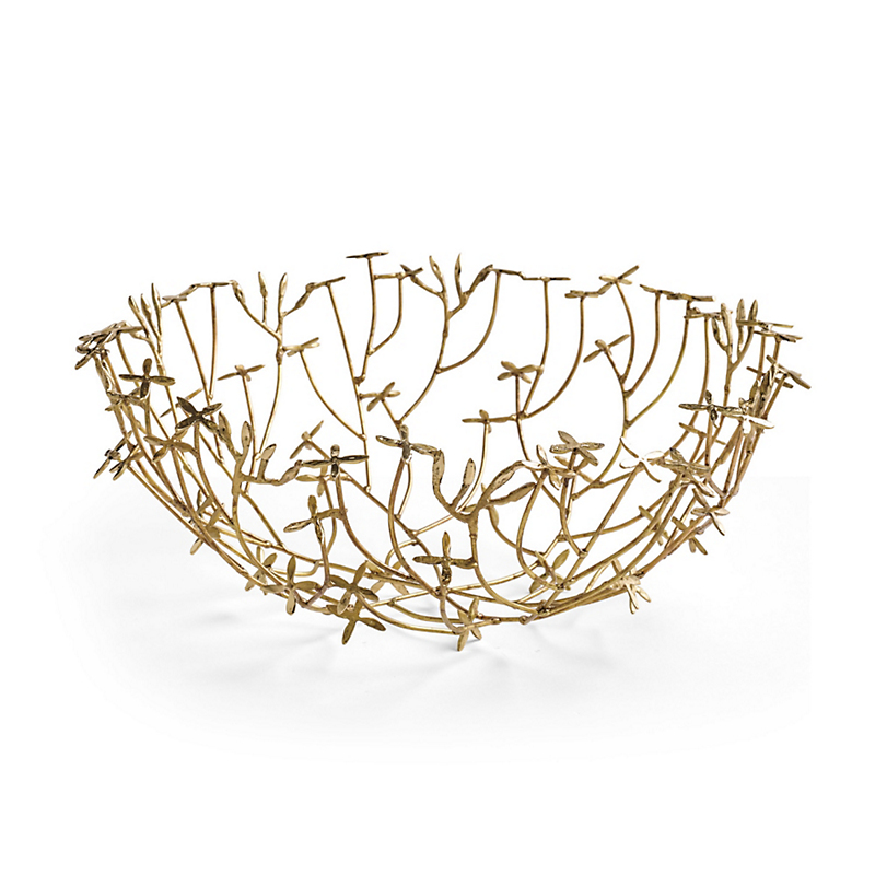 Flower Brass Bowl
