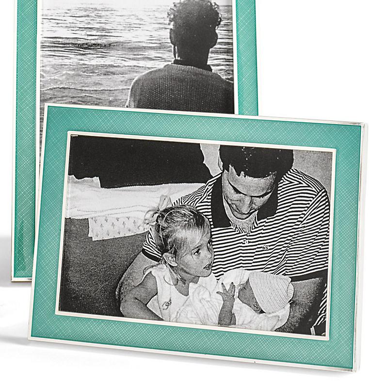 Picture frames home accents gumps san francisco enamel patterned frames jeuxipadfo Choice Image