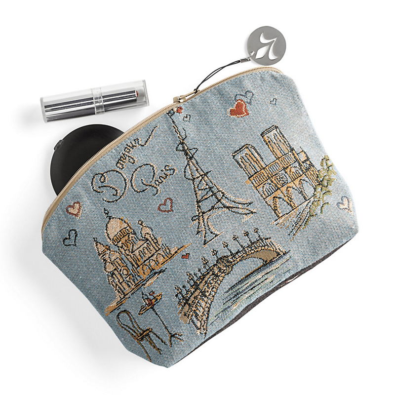 Summer In Paris Cosmetic Bag