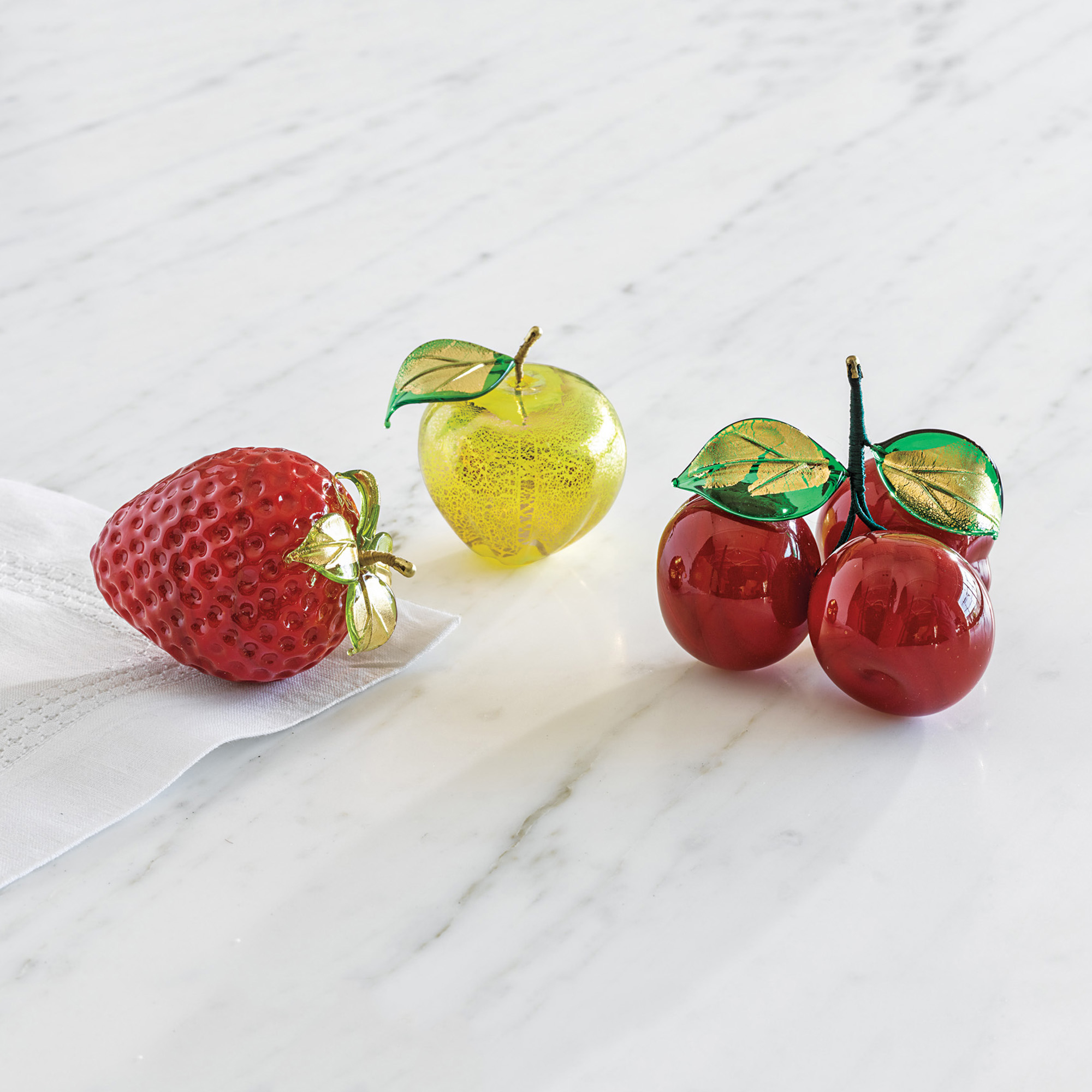 Murano Summer Glass Fruits