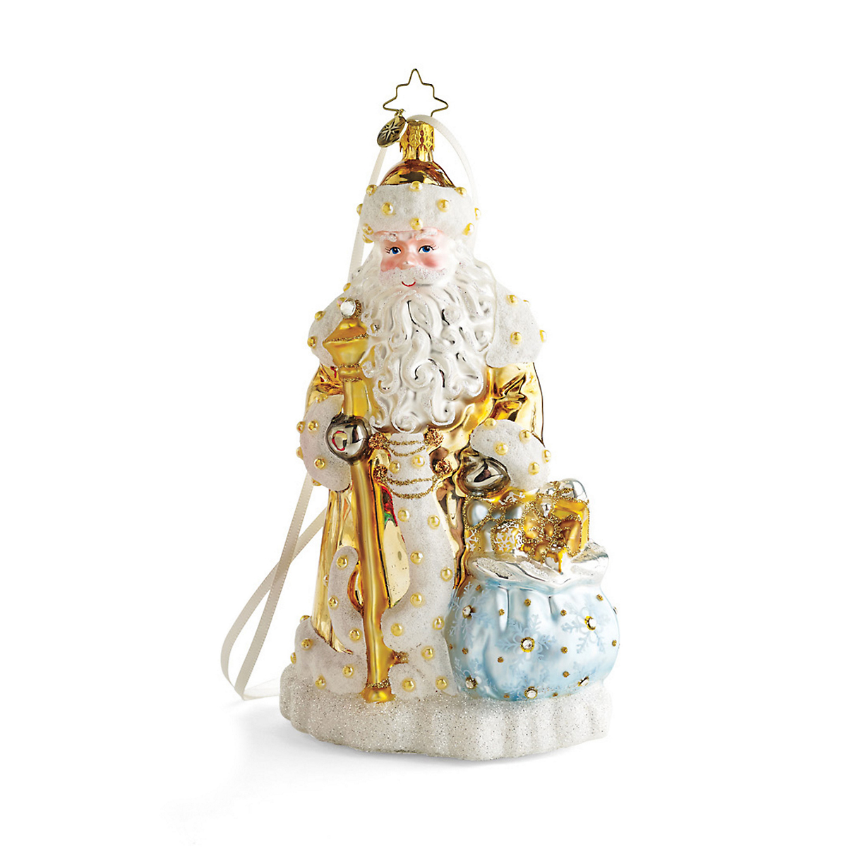 Limited Edition Luxury Christmas Ornaments: Christopher Radko Limited-Edition Father Frost Christmas