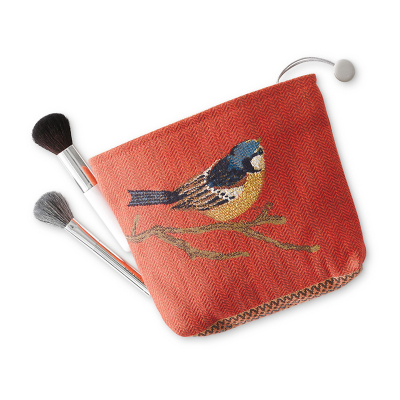Rivoli Jacquard Makeup Bag