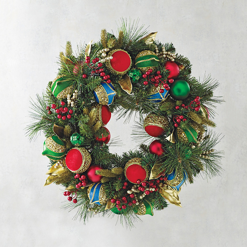 Holiday Festivity Collection Wreath