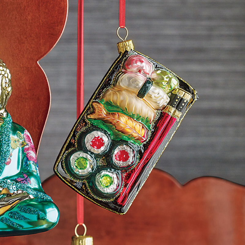 Far East Sushi Christmas Ornament