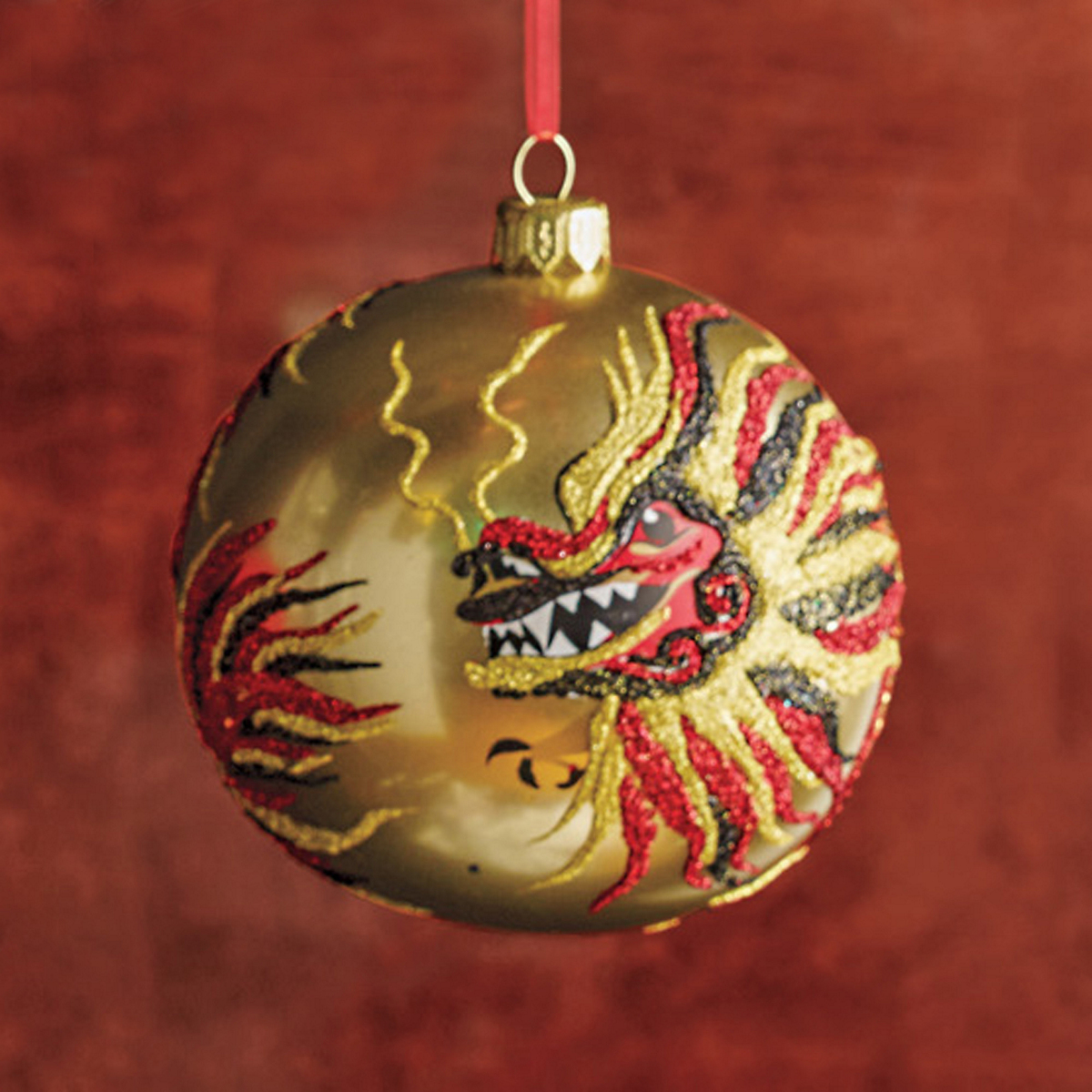Far East Dragon Ball Christmas Ornament