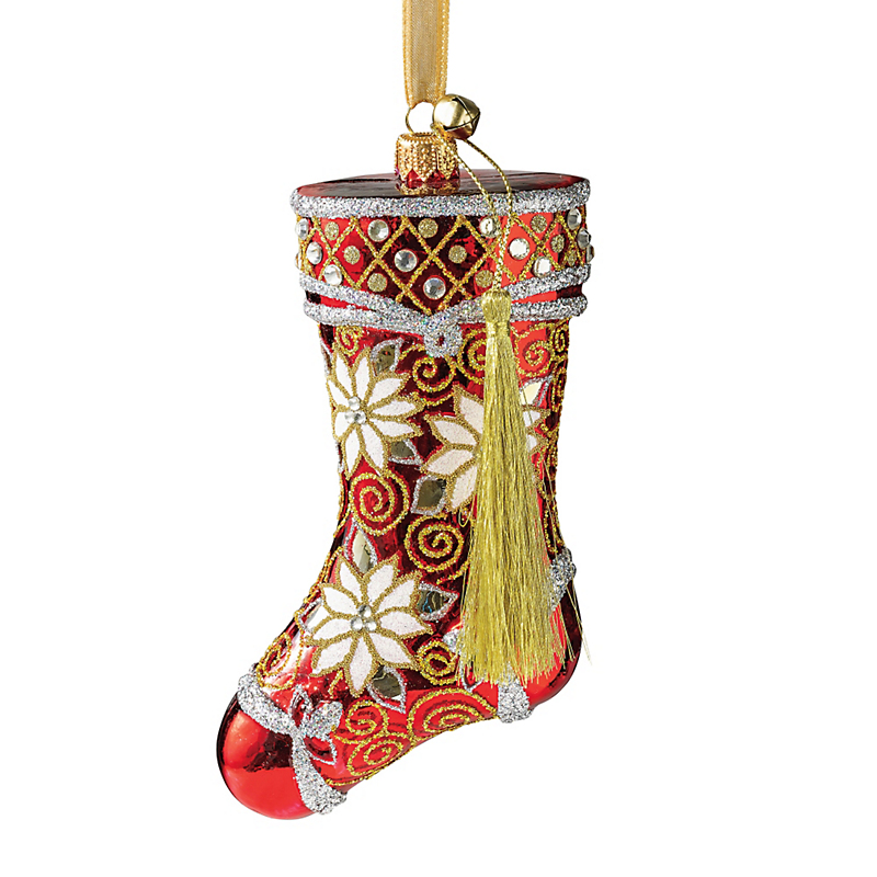 Jingle Nog Stocking Ornament
