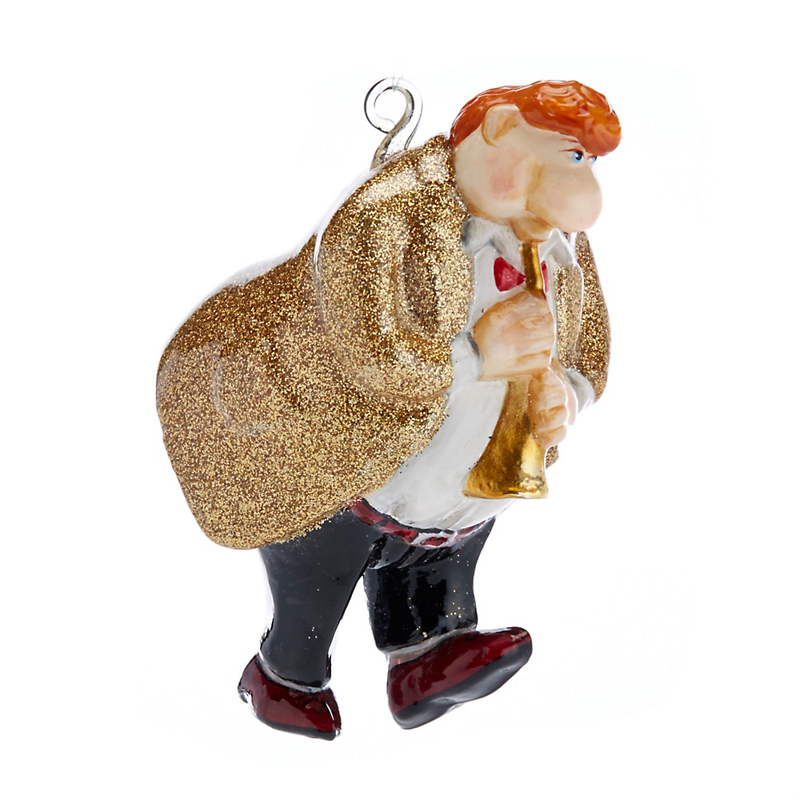 Jazz Trio Horn Player Christmas Ornament