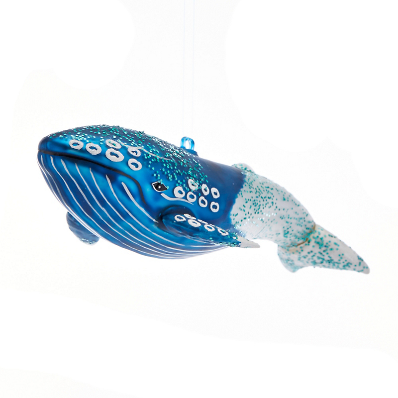 Gifts From The Sea Blue Whale Christmas Ornament