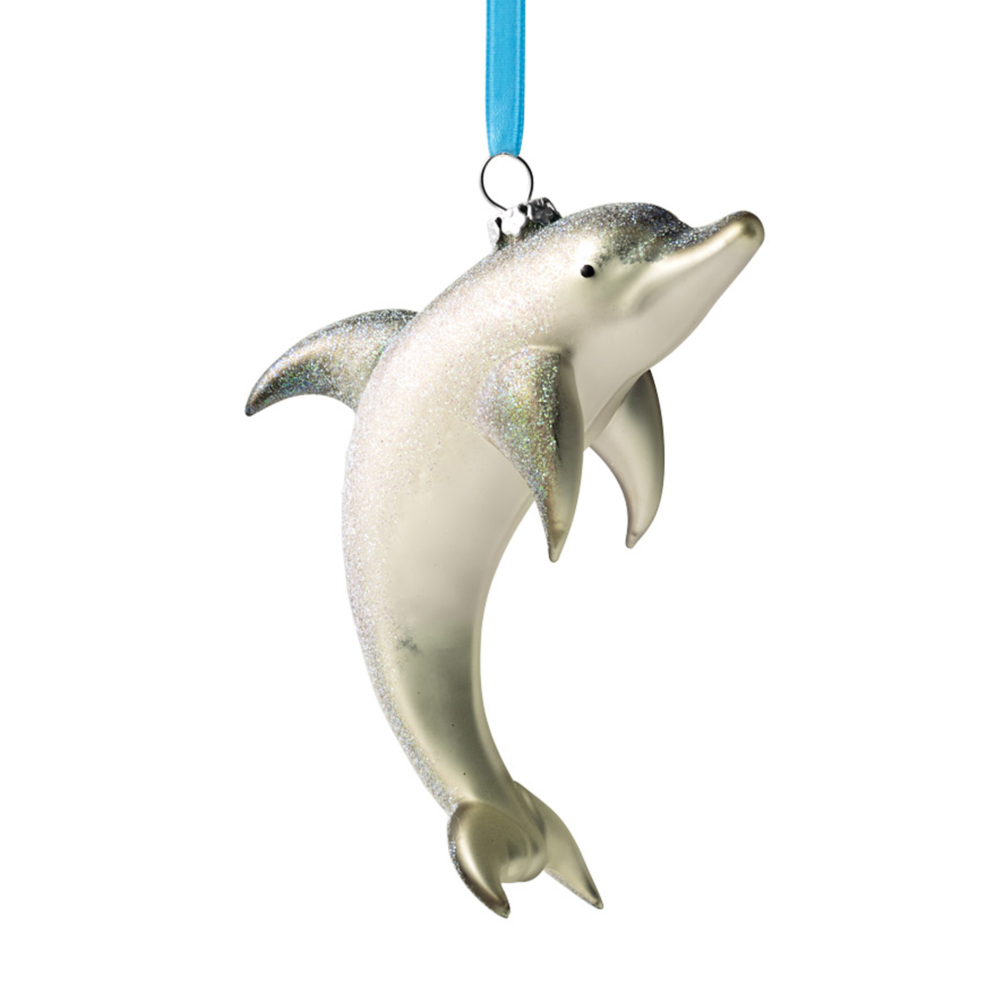 Under-The-Sea Dolphin Christmas Ornament