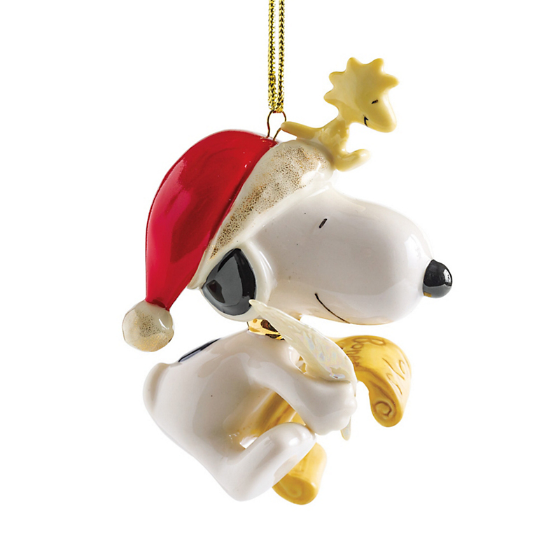 Christmas Snoopy Ornament