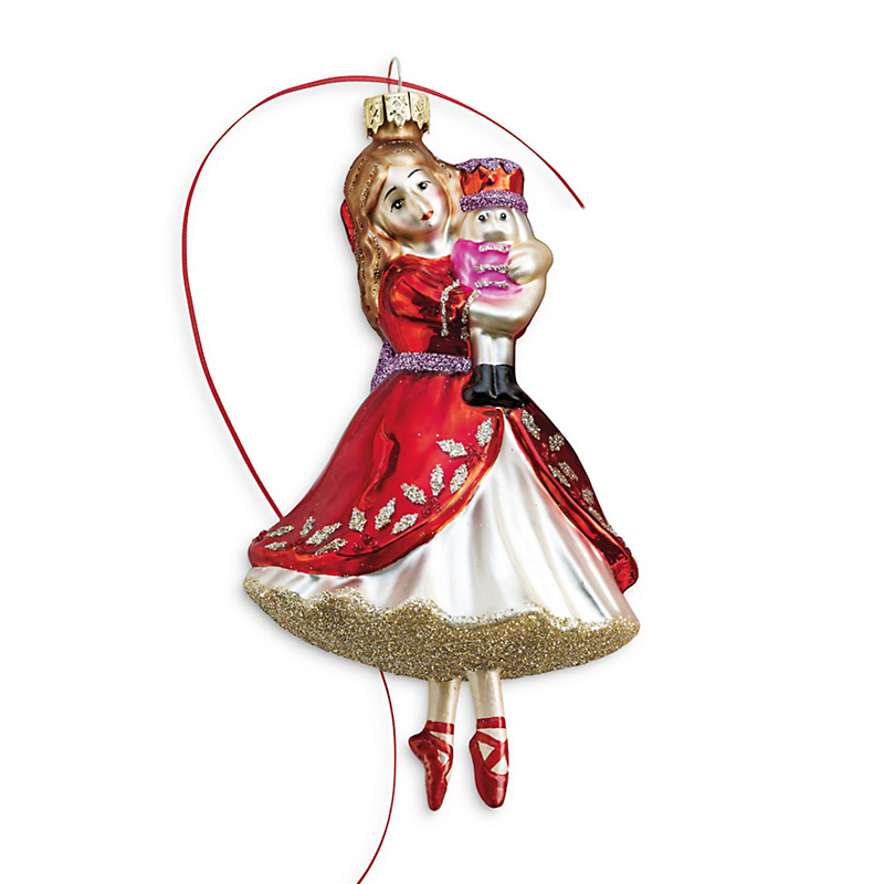 Nutcracker Christmas Ornament, Clara