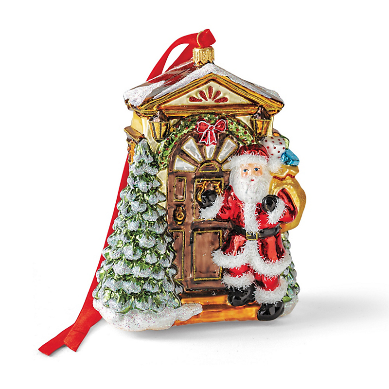 Santa's Arrival Christmas Ornament