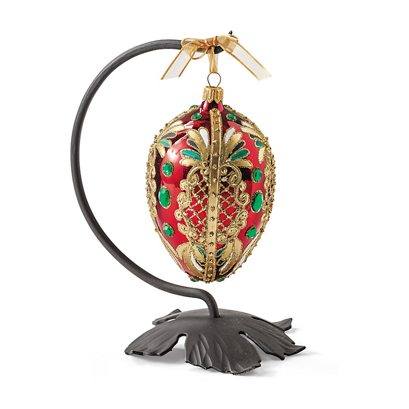 Empress Egg Ornament & Stand
