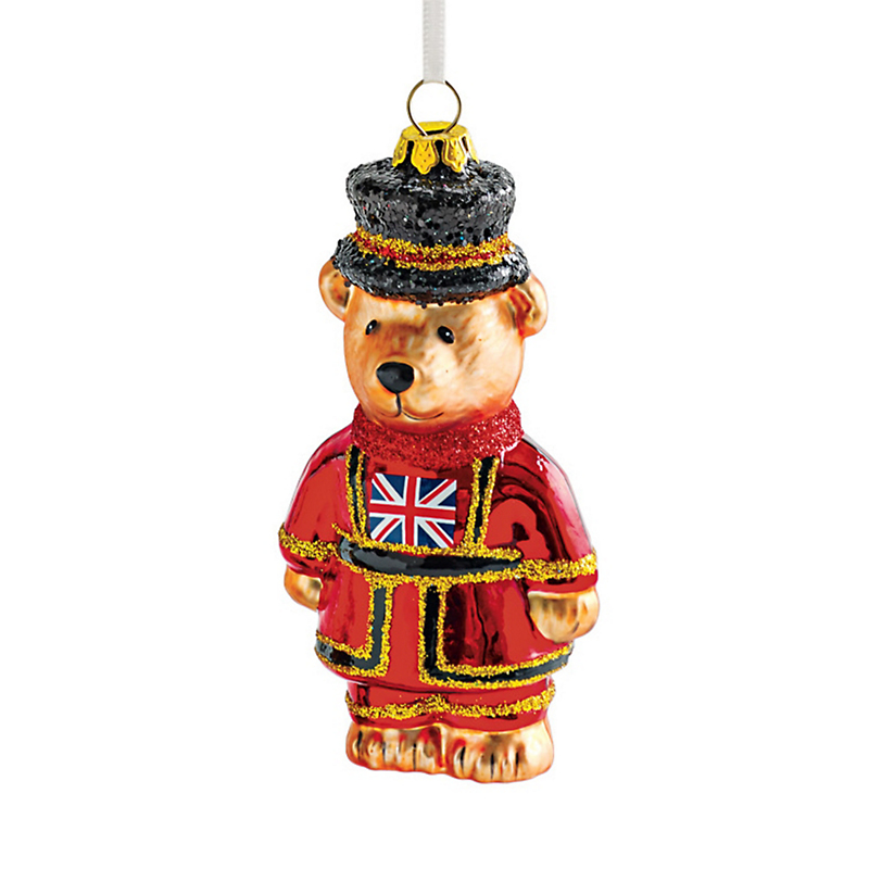Royal Guard Bear Christmas Ornament