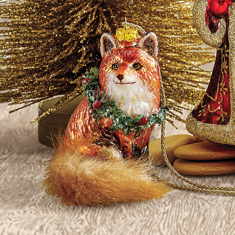 Forest Friends Woodland Fox Christmas Ornament