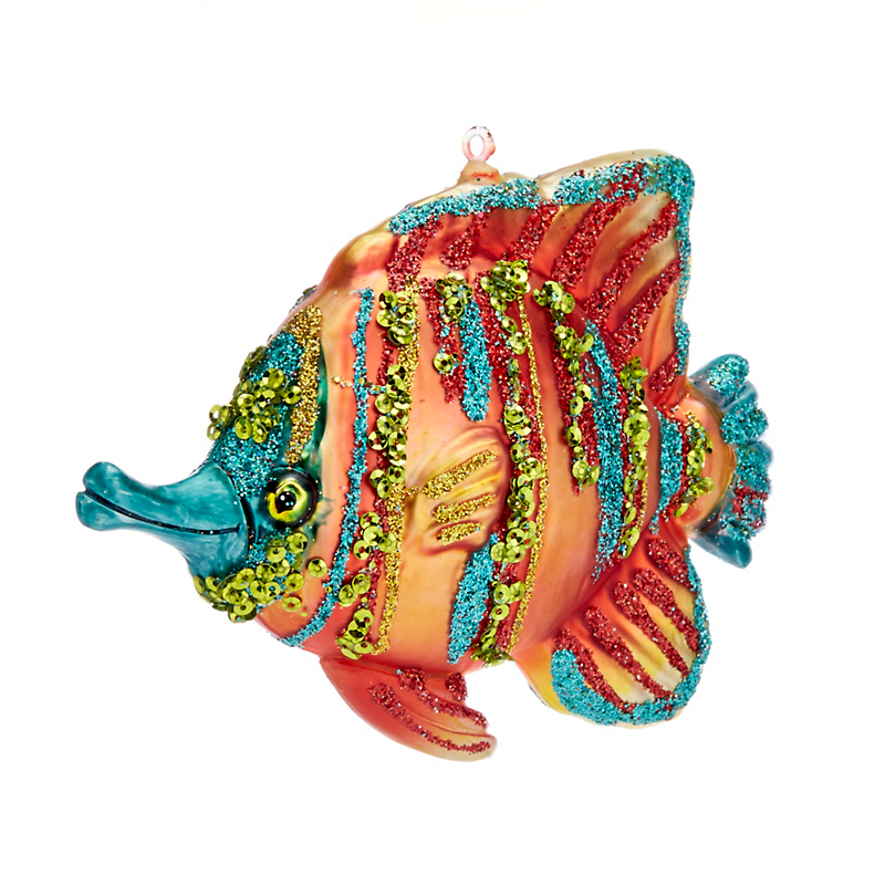 Gifts From The Sea Tropical Fish Christmas Ornament