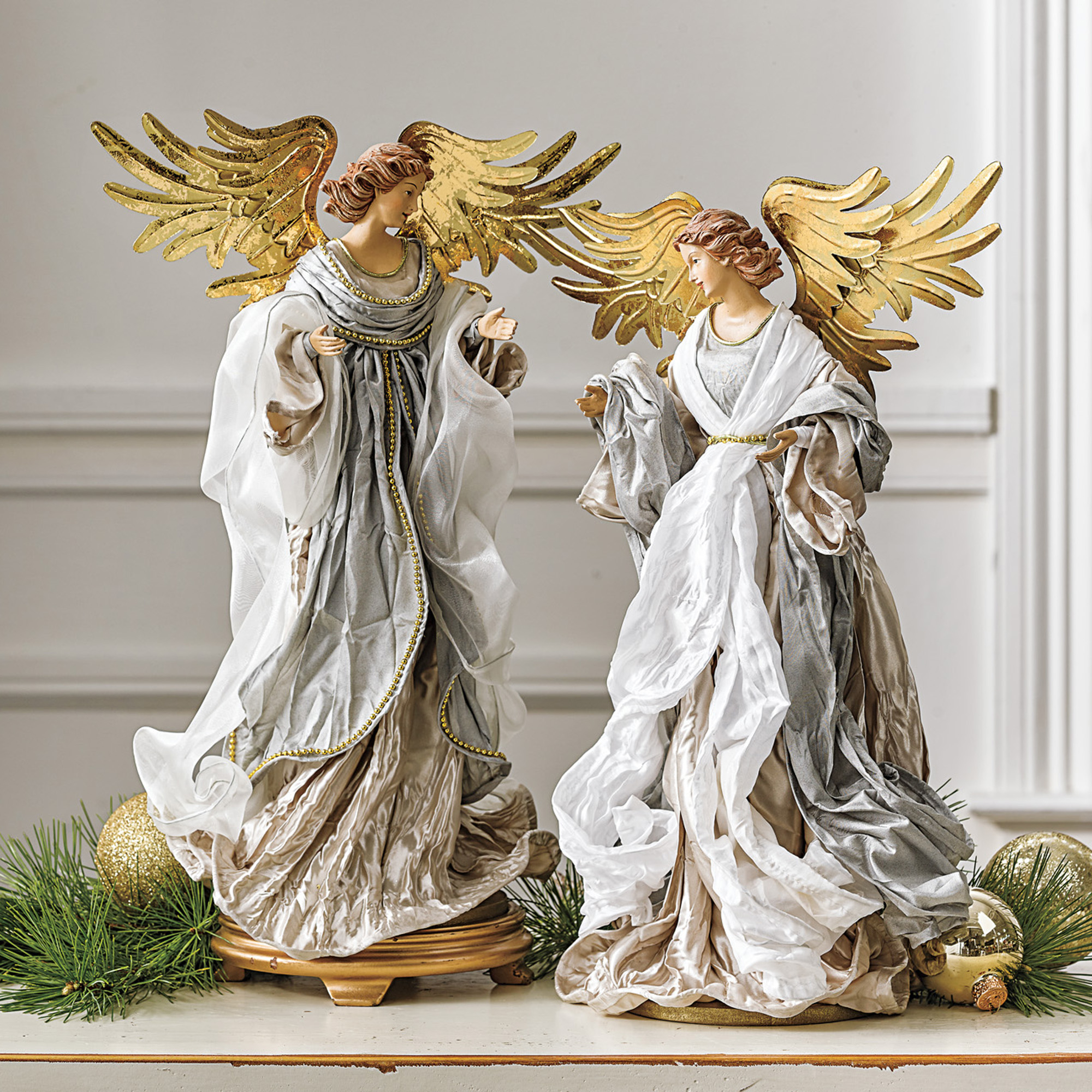 Serene Angel Figures