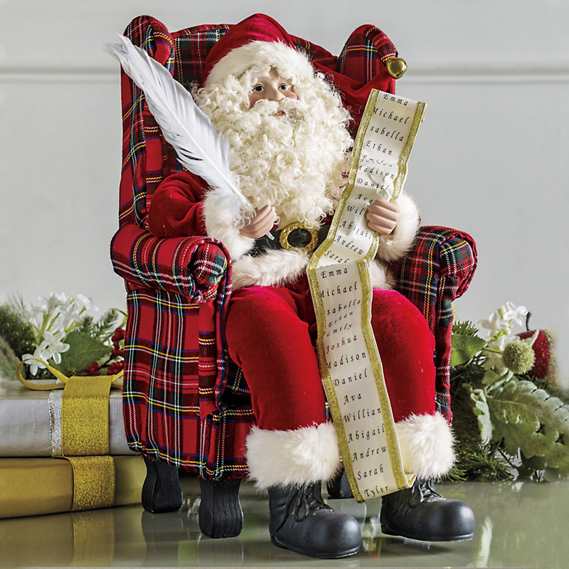 Jolly Old St. Nick Figure
