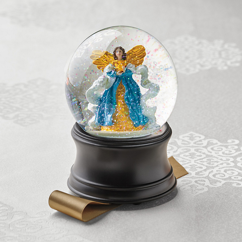 Heavenly Angel Musical Snow Globe