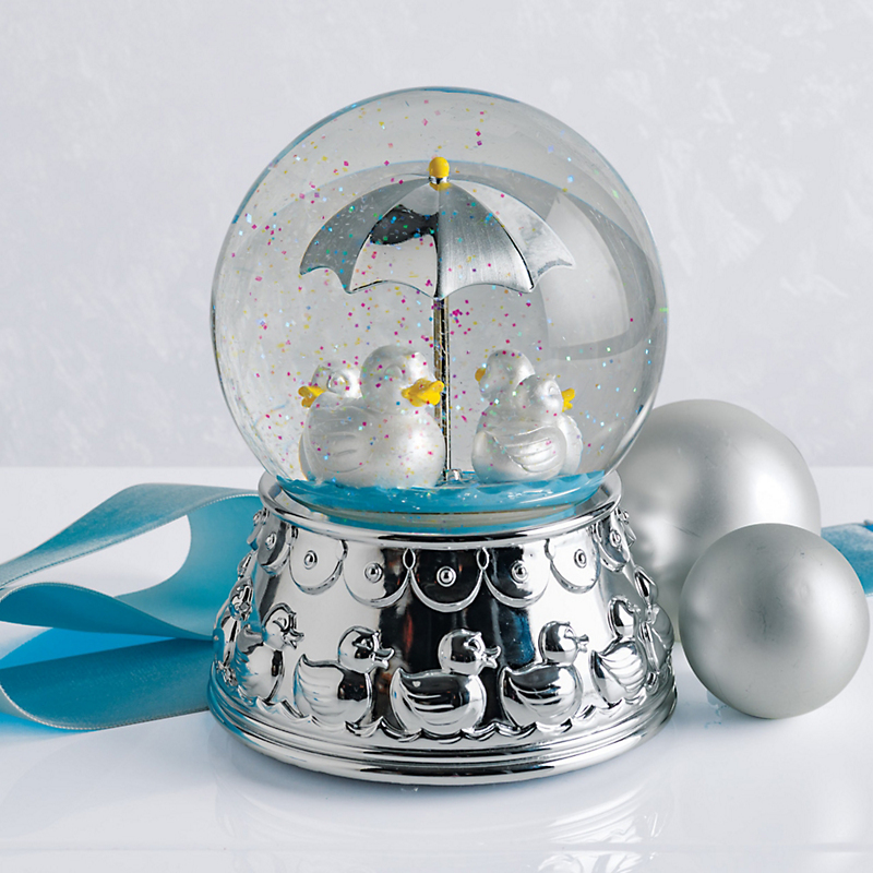 Baby Ducky Musical Snow Globe