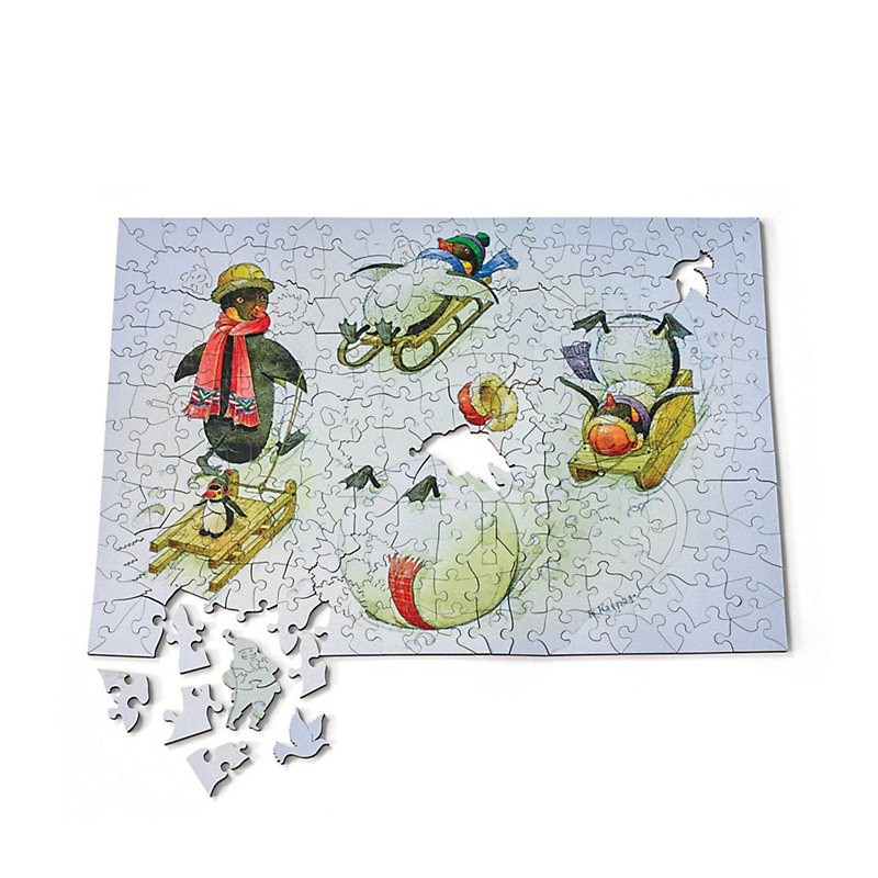Sledding Penguins Puzzle